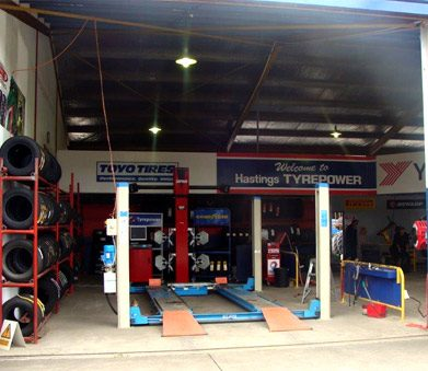 Hastings Tyrepower Tyre Workshop