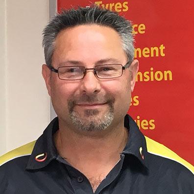 Wayne Stryder Manager Hornby Tyrepower