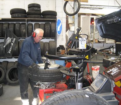 Gisborne tyre workshop at Gisborne Tyrepower