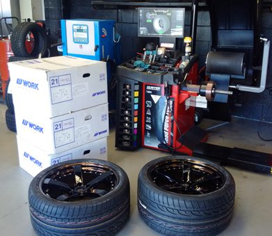 latest tyre and wheel equipment