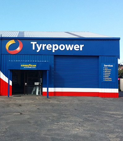 exterior photo of Otago Tyrepower