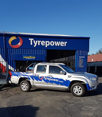 Otago Tyrepower Vehicle