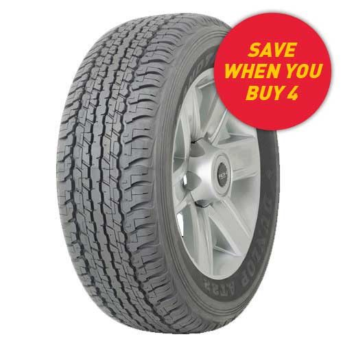 Save when you buy 4 Dunlop Grandtrek AT22 tyres at your local Tyrepower store