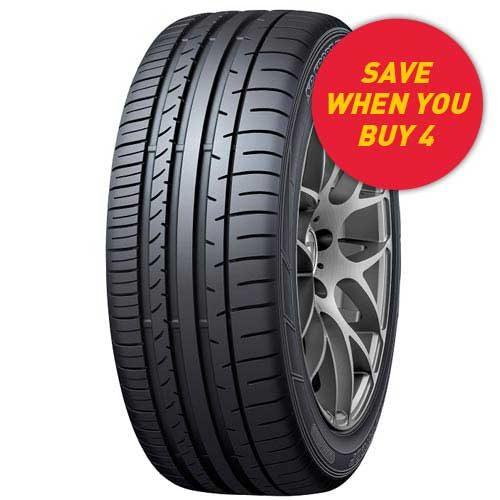 Save when you buy Dunlop Sport Maxx 050+ tyres from your local Tyrepower store