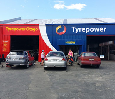 Exterior view of Tyrepower Otago