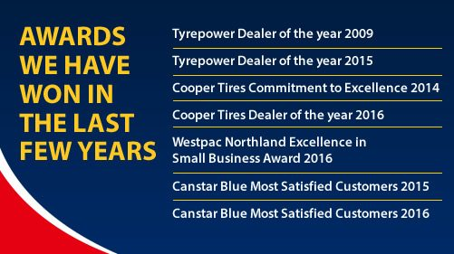 Whangarei Tyrepower  |  Courtesy Cars 4