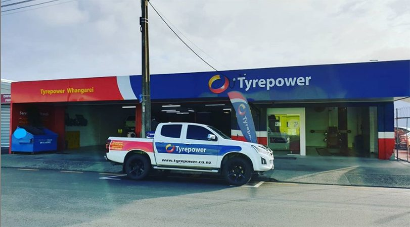Streetview of Whangarei Tyrepower