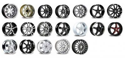 Mag and alloy wheels
