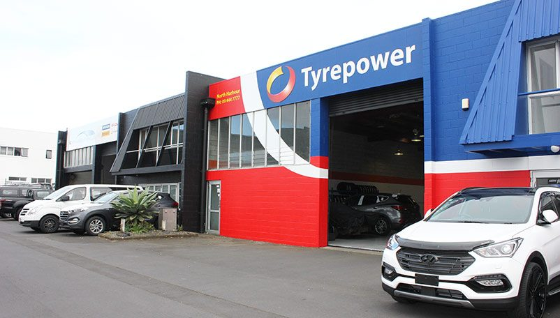 North Harbout Tyrepower North Shore
