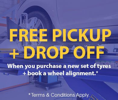 North Shore Tyrepower Pick Up & drop Off Service