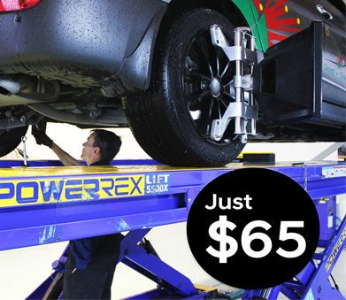 North Harbour TyrepowerWheel Alignment Offer