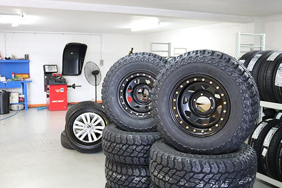 tyre workshop in Wairua Road