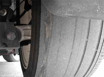 tyres that require aligning correctly