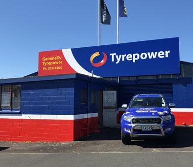 Exterior Gemmells Tyrepower in Glen Innes Auckland
