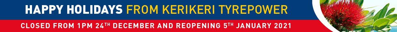 Christmas opening hours at Tyrepower Kerikeri