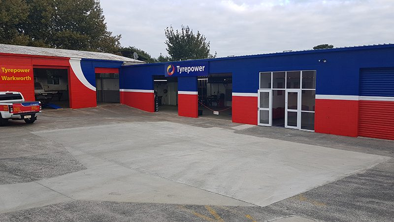 Tyrepower Warkworth - Exterior view of Store