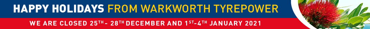 Christmas opening hours at Warkworth Tyrepower