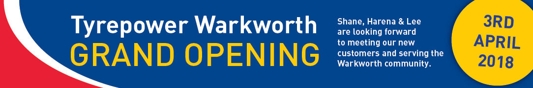 Tyrepower Warkworth grand opening 3rd April 2018