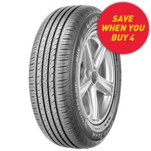 Goodyear EfficientGrip Performance SUV tyre deal. Save when you buy 4 tyres at Tyrepower