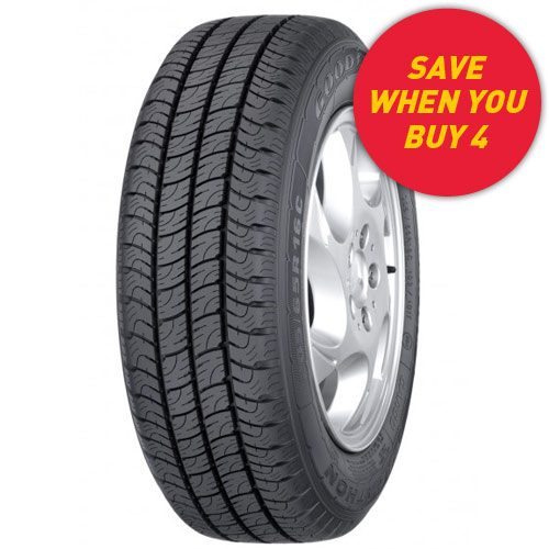 Save when you buy 4 Goodyear Cargo Marathon 2 tyres - see in store for details