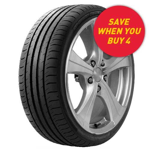 Save when you buy 4 Dunlop Sport Maxx 050 tyres from your local Tyrepower store