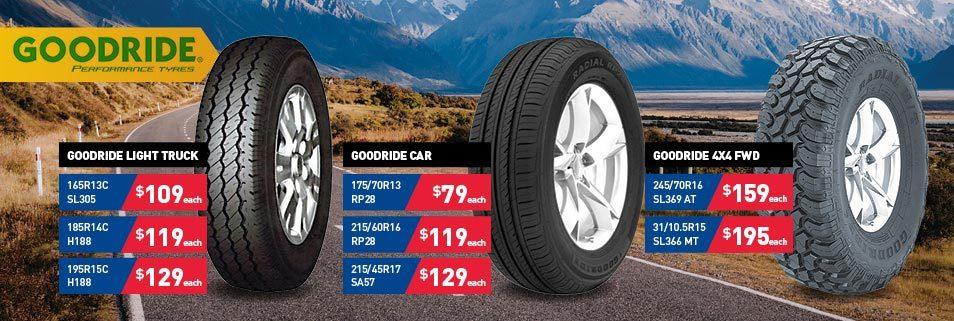 Goodride tyre deals