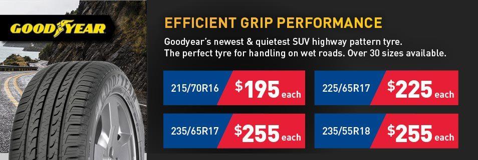 Goodyear tyre deals