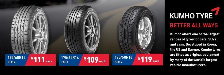 Kumho Tyre Deals