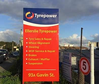 Local Ellerslie Tyre store