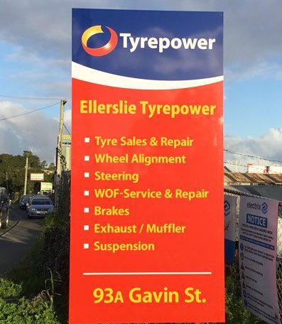 Ellerslie Tyrepower Signage