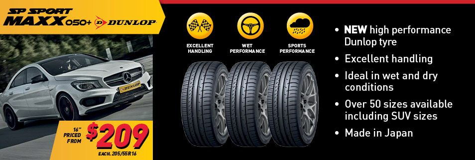 Latest Dunlop deals