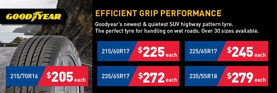 Latest Goodyear Deals