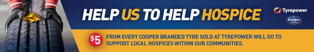 Help Tyrepower Help Hospices in Local Communities