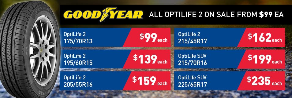 Goodyear Optimlife 2 Deals