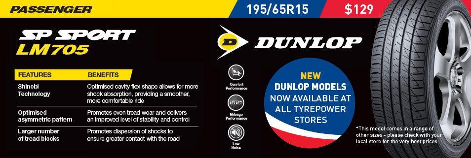 Dunlop SP Sport LM105
