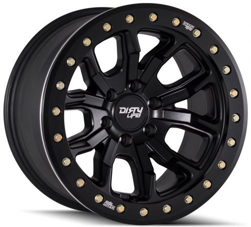 Dirty Life DT-1 Black Alloy Wheels 1