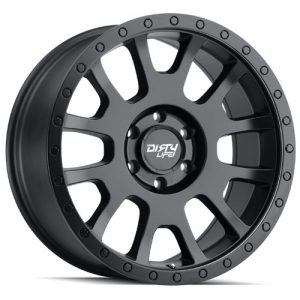 Dirty Life Scout Matt Black Alloy Wheels