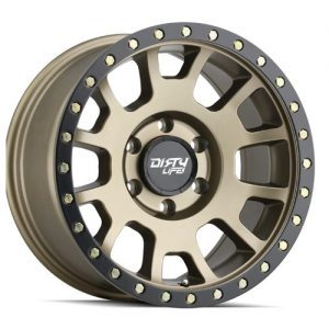 Dirty Life Scout Matt Gold with Black Lip Alloy Wheels