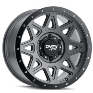 Dirty Life Theory Matt Gunmetal Alloy wheels