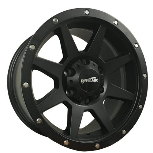 Dynamic Joka Black Alloy Wheels
