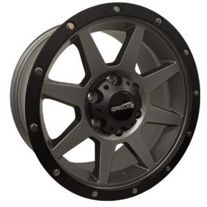 Dynamic Joka Graphite Black Alloy Wheels