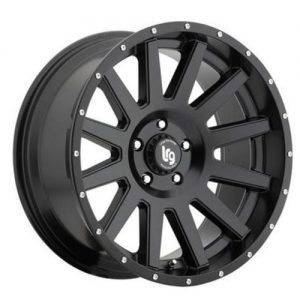 LRG Gamer Black Alloy wheels