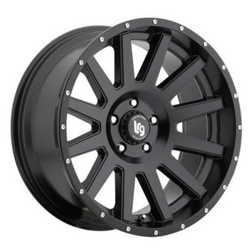 LRG Gamer Black Alloy wheels