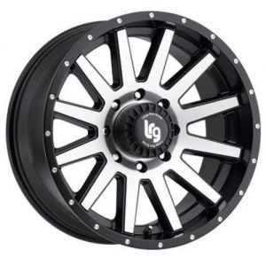 LRG Gamer Rims Machined Satin Black Alloy Wheels