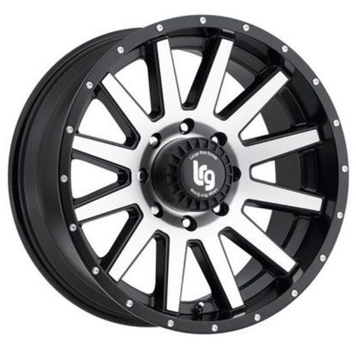 LRG Gamer Rims Machined Satin Black Alloy Wheels