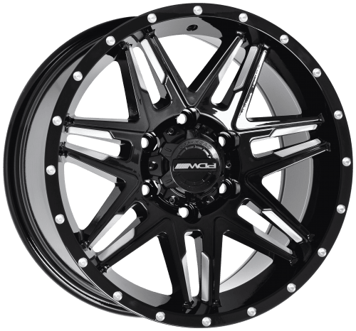 Dynamic Venom-X Black Alloy Wheels 1