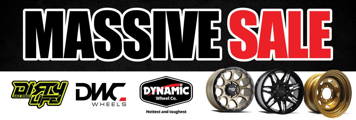 Massive Steel wheel Christmas Sale