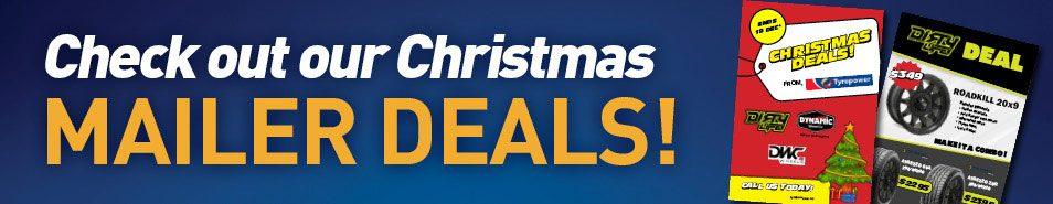 Steel wheel Christmas Deal Catalogue