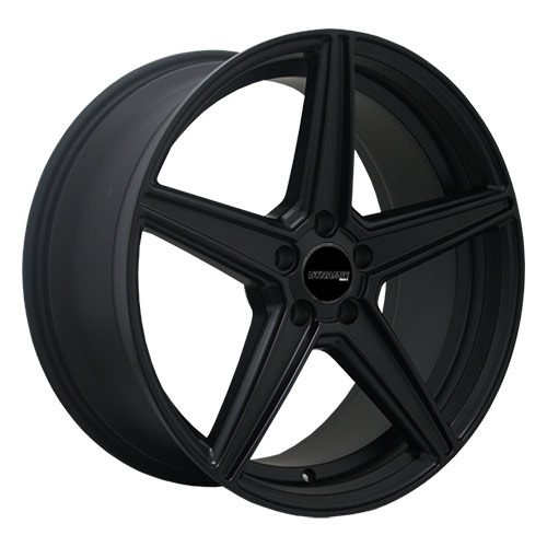 Dynamic cobra black alloy wheels