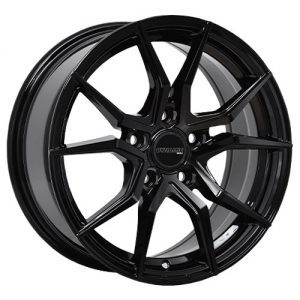 dynamic conceptor black alloy wheels